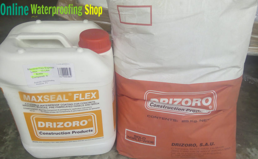 Drizoro Maxseal flex express get your second coating on in 2 hours