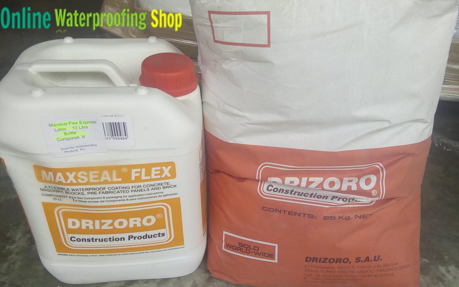 Drizoro Maxseal Flex Express – 30 minutes to 1 hour between Coats