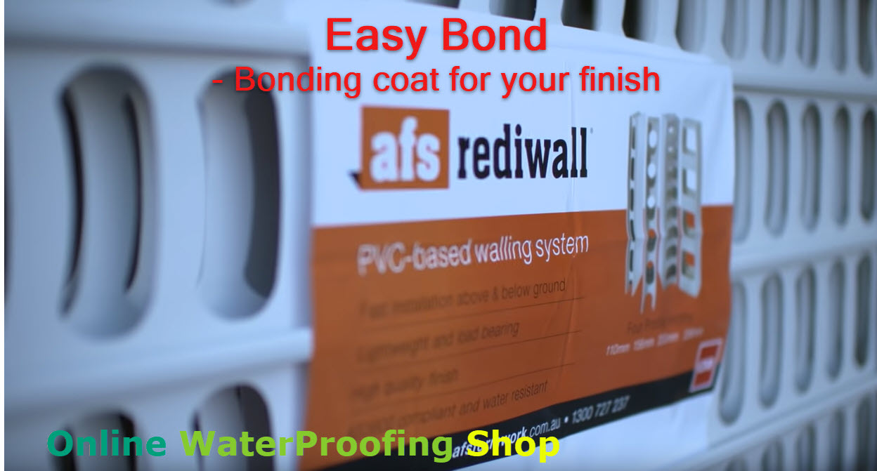 Why Purchase from Waterproofing Shop, Easy Bond for permanent formwork