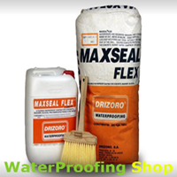 Drizoro Maxseal Flex is Why Purchase from Waterproofing Shop
